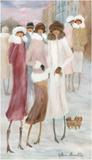 Belle sortie d'hiver Posters af Hélène Léveillée