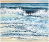 Shoreline study 12 Prints by Carole Malcolm