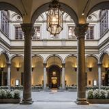 Palazzo (Palace) Strozzi, the Courtyard Reproduction photographique par Massimo Borchi
