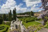 Villa La Foce Garden Impressão fotográfica por Guido Cozzi