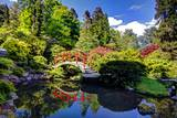 Kabota Gardens in Seattle Photographic Print by Terry Eggers