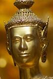 View of Kinnara Figure, Wat Phra Kaeo, Bangkok, Thailand Photographic Print by Dallas and John Heaton