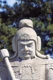 Guardian, Sacred Way, Ming Tombs, Beijing, China Photographic Print by Dallas and John Heaton