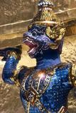 View of Khon Figure, Wat Phra Kaeo, Bangkok, Thailand Photographic Print by Dallas and John Heaton