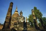 Wat Sa Si, Ancient City, Sukhothai, Thailand Photographic Print by Dallas and John Heaton