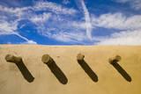 Adobe Structure Fotografie-Druck von Bob Krist