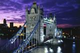 Tower Bridge in London Lámina fotográfica por Peter Adams