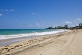 View of San Juan and Ocean, Puerto Rico Reproduction photographique par Massimo Borchi