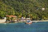 View of Bay, Cane Garden Bay, Tortola Island, British Virgin Islands Reproduction photographique par Massimo Borchi