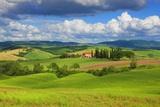 Tuscany Landscape Premium fotografisk trykk av Frank Krahmer