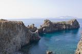 Punta Milazzese, Lipari Town, Panarea, Sicily, Italy Impressão fotográfica por Guido Cozzi