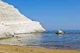 Beach near Scala Dei Turchi, Sicily, Italy Reproduction photographique par Massimo Borchi