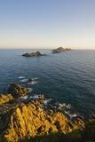 View of Sanguinaires Islands from Parata Point, Ajaccio, Corsica, France Reproduction photographique par Massimo Borchi