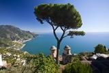 Vista from Hillside Town of Ravello Fotografisk trykk