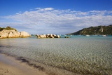 View of Santa Giulia Bay, Corsica, France Reproduction photographique par Massimo Borchi