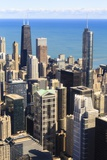 Chicago Cityscape Photographic Print by Fraser Hall