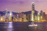 Hong Kong Skyline Photographic Print by Fraser Hall