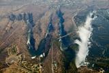 Aerial of Victoria Falls Fotografie-Druck von Michele Westmorland
