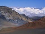 Haleakala Volcano Crater Fotografisk trykk av Guido Cozzi
