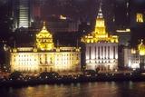 Customs House, the Bund, Whampoa River, Shanghai, China Photographic Print by Dallas and John Heaton