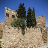 Old Town, the Tower of David (Or Citadel of Jerusalem) Reproduction photographique par Massimo Borchi