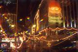 View of Christmas Decorations, Kowloon, Hong Kong, China Photographic Print by Dallas and John Heaton