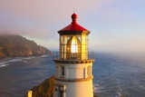 Heceta Head Lighthouse, Oregon Coast, Pacific Ocean, Pacific Northwest Fotografisk trykk av Craig Tuttle