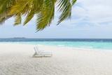 Beach Scene in the Maldives Photographic Print by John Harper