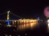 Tsing Ma Bridge, Hong Kong, China Photographic Print by Dallas and John Heaton