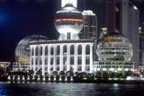 International Convention Centre at Night, Shanghai, China Photographic Print by Dallas and John Heaton