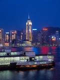 Convention Centre, Victoria Harbor, Wanchai, Hong Kong, China Photographic Print by Dallas and John Heaton