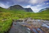 Mountain Landscape in Glen Coe Fotografie-Druck von Frank Krahmer