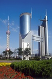 High Rise and TV Tower, Pudong, Shanghai, China Photographic Print by Dallas and John Heaton