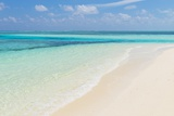 Idyllic Beach in the Maldives Photographic Print by John Harper