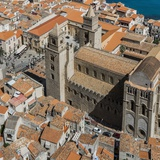 View of the Duomo (Cathedral) from the Rocca (Fortress) Reproduction photographique par Massimo Borchi