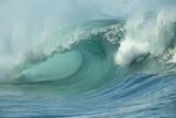 Shorebreak Waves in Waimea Bay Fotografie-Druck von Rick Doyle