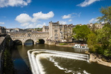 Pulteney Bridge over the River Avon, Bath, Avon and Somerset, England, United Kingdom, Europe Reproduction photographique par Matthew Williams-Ellis