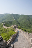 The Original Mutianyu Section of the Great Wall, UNESCO World Heritage Site, Beijing, China, Asia Fotoprint van Michael DeFreitas