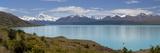 Mount Cook and Lake Pukaki, Mount Cook National Park, Canterbury Region Reproduction photographique Premium par Stuart Black