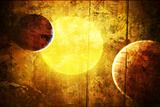 Planets and a Sun 2 Posters