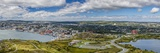 Panoramic View of St. Johns Harbour and Downtown Area, St. John'S, Newfoundland Photographic Print by Michael Nolan