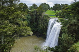 Whangarai Falls, North Island, New Zealand, Pacific Fotografisk trykk av Michael Runkel