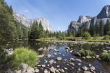 Valley View with El Capitan, Yosemite National Park, California, Usa Reproduction photographique par Jean Brooks
