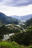 The Rice Terraces of Banaue, Northern Luzon, Philippines, Southeast Asia, Asia Fotografisk trykk av Michael Runkel