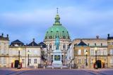 Amalienborg Palace at Dawn, Copenhagen, Denmark, Scandinavia, Europe Photographic Print by Chris Hepburn