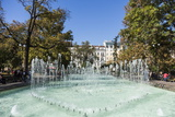 City Garden Park, Fountains, Sofia, Bulgaria, Europe Reproduction photographique par Giles Bracher