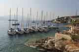 Yachts and Ships at Anchor, Fiskardo, Kefalonia (Cephalonia) Photographic Print by Eleanor Scriven