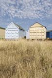 Beach Huts, Hayling Island, Hampshire, England, United Kingdom, Europe Reproduction photographique par Jean Brooks