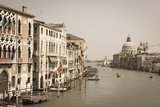 The Grand Canal and the Domed Santa Maria Della Salute, Venice, Veneto, Italy, Europe Photographic Print by Amanda Hall
