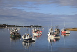 Fishing Boats, Harbor, Chatham, Cape Cod, Massachusetts, New England, Usa Lámina fotográfica por Wendy Connett